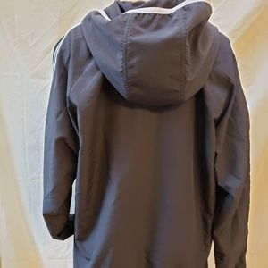 adidas Jackets & Coats - Adidas black classic track jacket,  size L